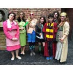 Dressing Up In Harry Potter Costumes