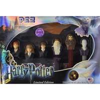 Limited edition Harry Potter Pez set