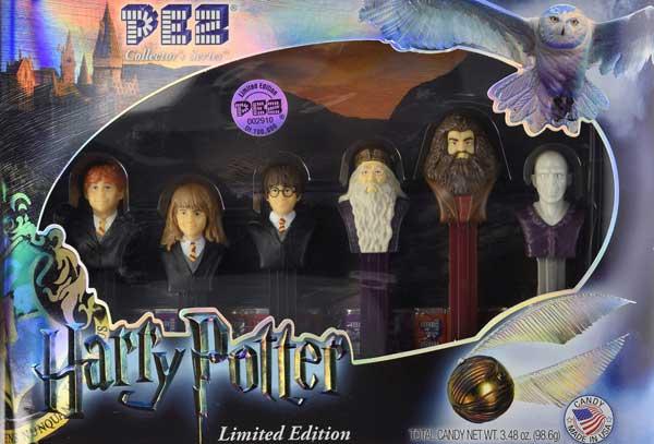 Limited edition Harry Potter Pez dispenser set