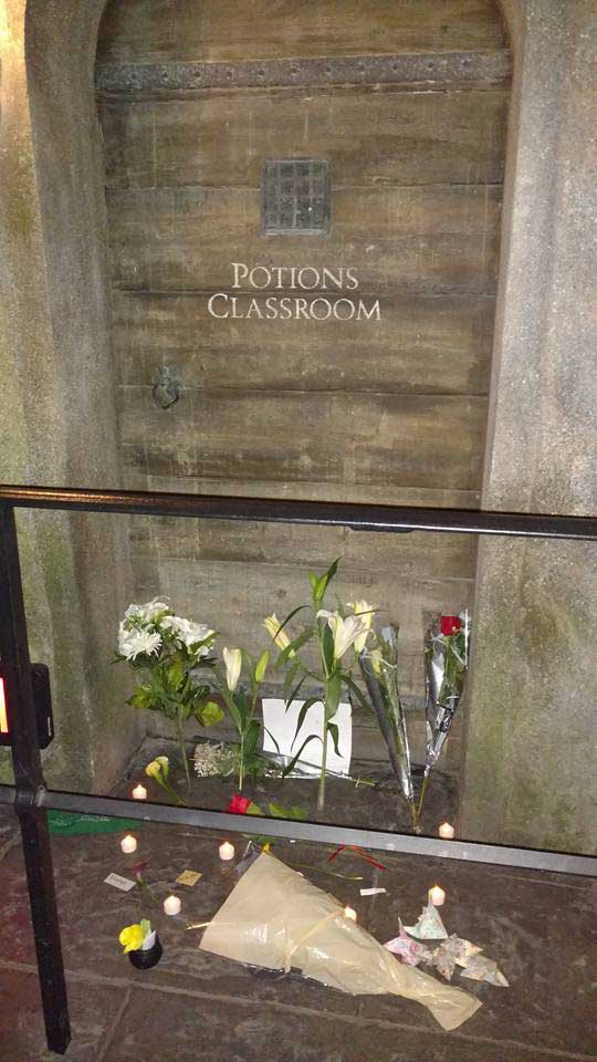 Memorial at Snape's Door