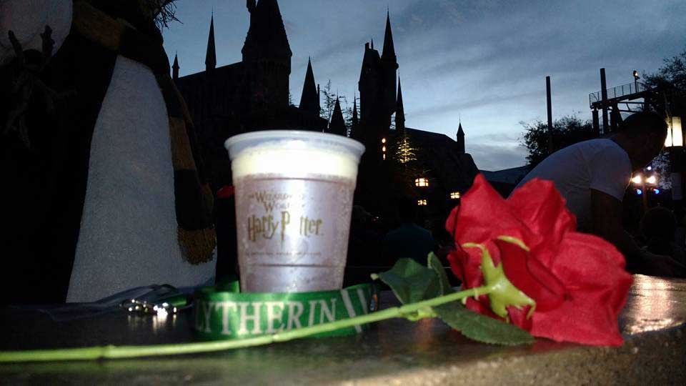 Rose and a Drink for Snape