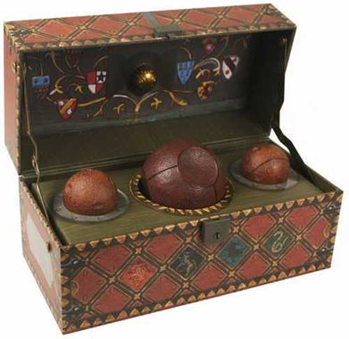 The collectible Quidditch set