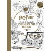 Harry Potter Postcard Coloring Book #1