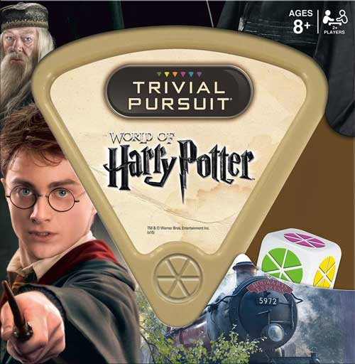 This is the Harry Potter edition of Trivial Pursuit