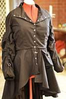 Black jacket for a Nymphadora Tonks costume