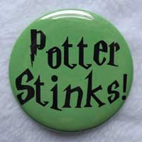 Potter Stinks Button