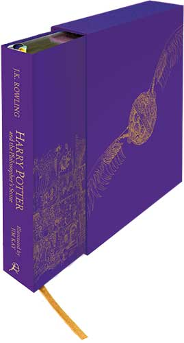 The illustrated collector's edition of Harry Potter and the Sorcerer's Stone