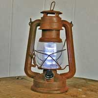 Lantern for a Hagrid costume