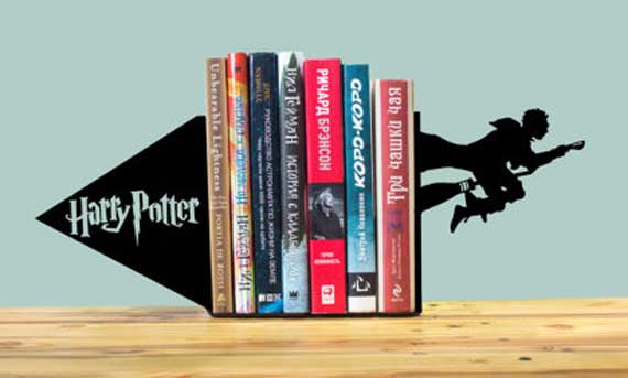 Bookends inspired by Harry Potter
