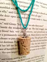 Butterbeer cork necklace for a Luna Lovegood necklace