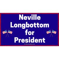 Neville Longbottom For President