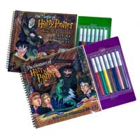 The Magic Of Harry Potter Deluxe Coloring Kits