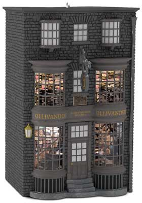 Ollivander's Wand Shop is one of the Hallmark ornaments in 2016