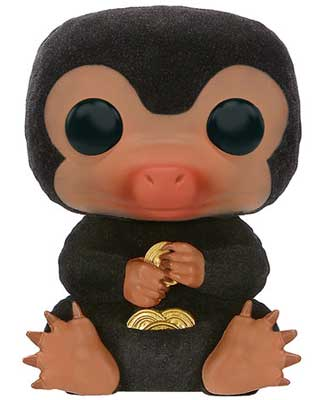 Flocked Niffler holding coins Funko Pop