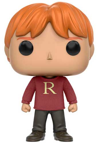 Ron Weasley wearing a sweater Funko Pop