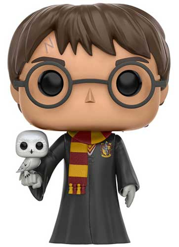 Harry Potter Holding Hedwig Funko Pop