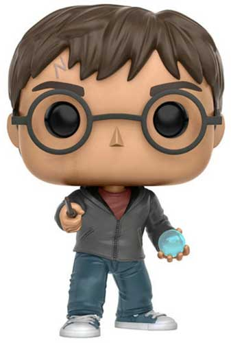 Harry Potter holding his prophecy orb Funko