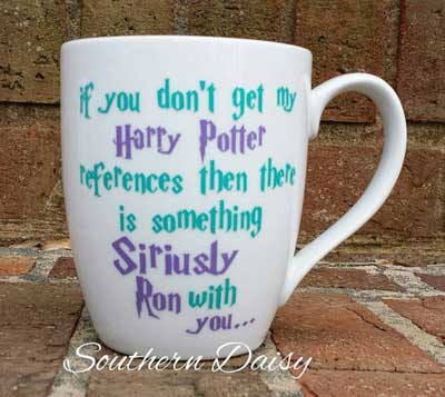 Coffee mug inspired by Harry Potter