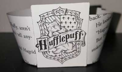 Cupcake wrappers inspired by Harry Potter