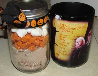 Harry Potter inspired cocoa mix
