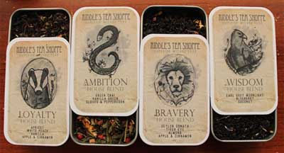 Tea leaves inspired by Harry Potter