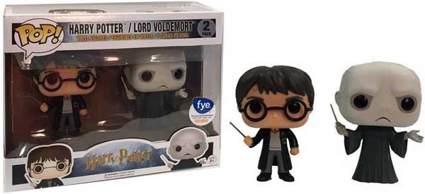 Funko Pop! 2 pack with Harry and Voldemort