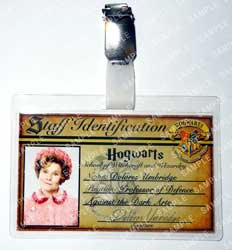 Hogwarts ID Badge for Professor Umbridge