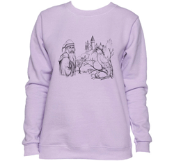 This is an example of the many different sweatshirts available for women.