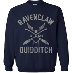 This is an example of the many different Ravenclaw sweatshirts available.