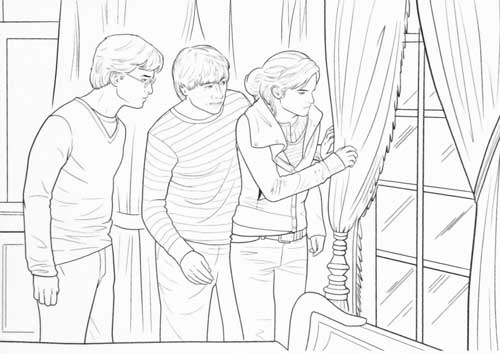 harry potter coloring kit • for the love of harry